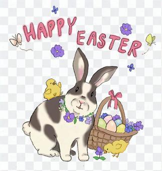 復活節兔子和雞蛋(兔子蛋)