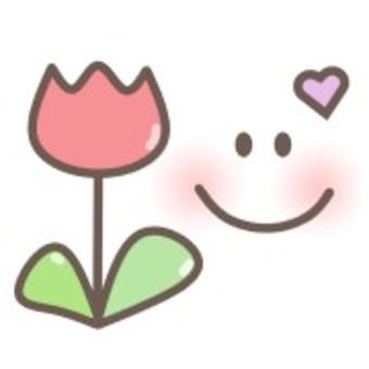 鬱金香植物花臉心