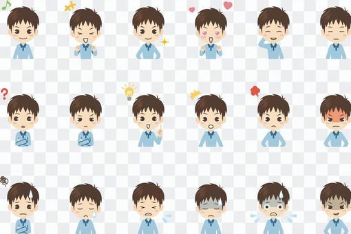 B109_男の子表情セット