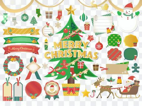 聖誕框架圖組