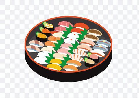 壽司簡易套餐 2