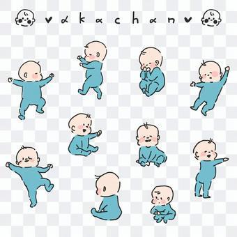 嬰兒插圖集