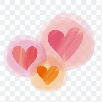 一個溫柔的心臟圖像