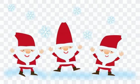 聖誕老人的舞蹈
