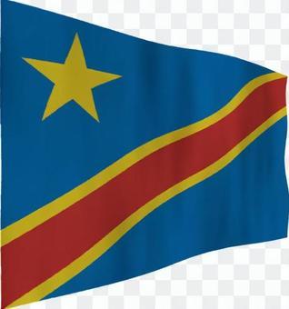 剛果民主共和國的旗幟