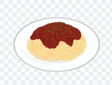 意大利面_肉醬