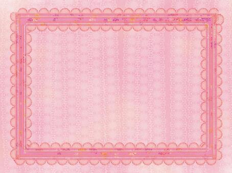 幀粉紅絲帶壁紙