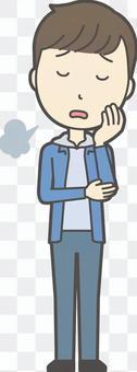 中学生男子私服-077-全身