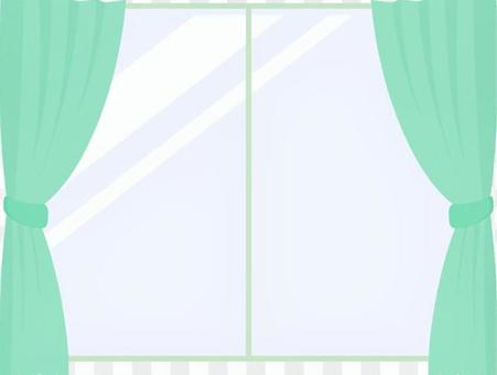 Curtain _ Green
