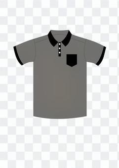 Polo shirt (gray)