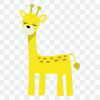 Spoofed giraffe