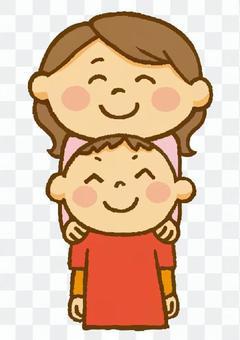 家族(ママと息子)
