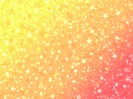 漸變宇宙黃色 x 橙色