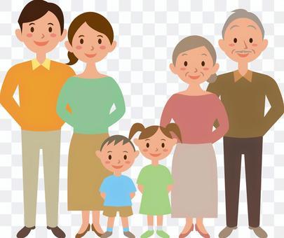 家族 三世代家族