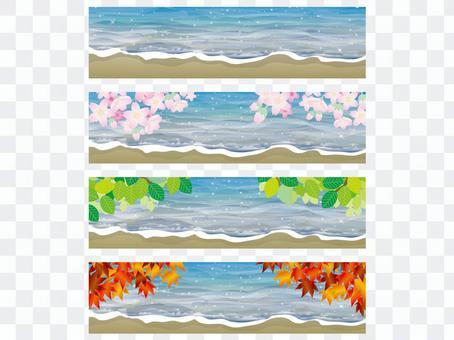 標語:水面上的四個季節(3)