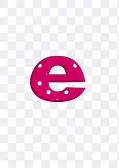 Alphabet (e)