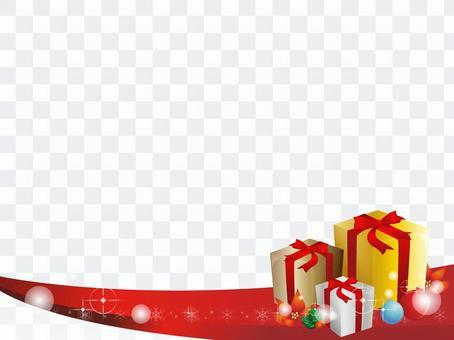 闪亮礼品盒装饰框4