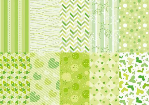 綠色模式集