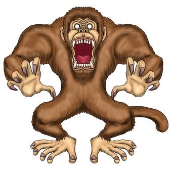 猴子,大猴子怪物