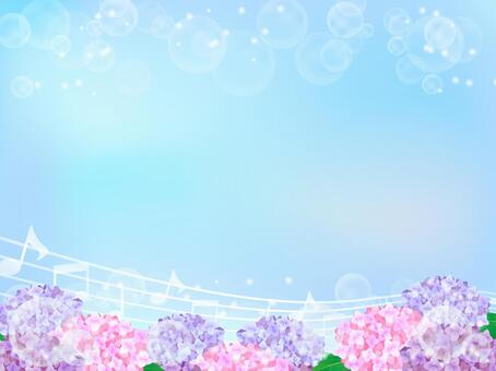 Hydrangea's background 2