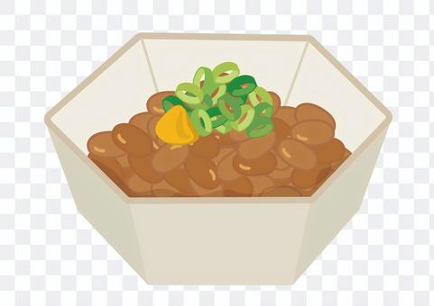 Meal ★ Japanese illustration Natto