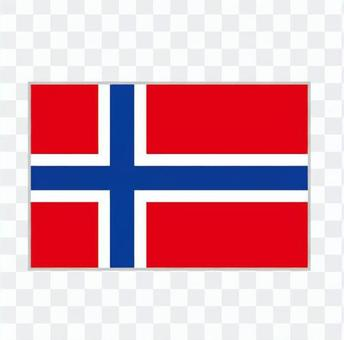 National flag Norway
