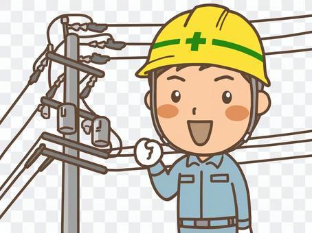 電気工事 作業員