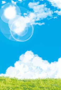 藍天背景明白天空紋理背景牆紙明信片比率