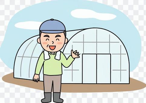乙烯基房子農夫