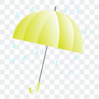 黃色的雨傘圖