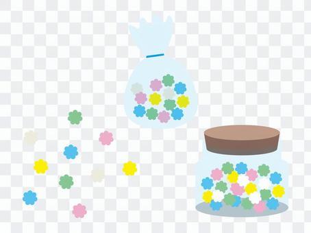 金平糖_こんぺいとう_袋_瓶