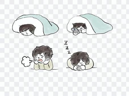 睡眠不足可能會導致疾病