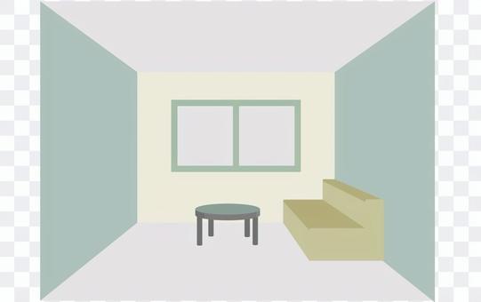 Living room (green)