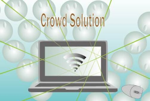 Crowdsourcing company advertisement banner