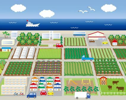 本地生產供海邊消費
