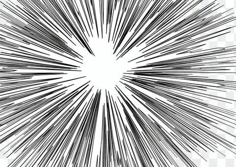 濃度線 - 黑色