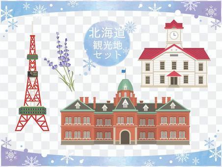 北海道01_札幌_illustration