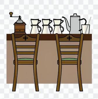 吧台,咖啡厅