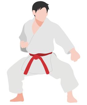 Silhouette Karate Men's Seiunchin