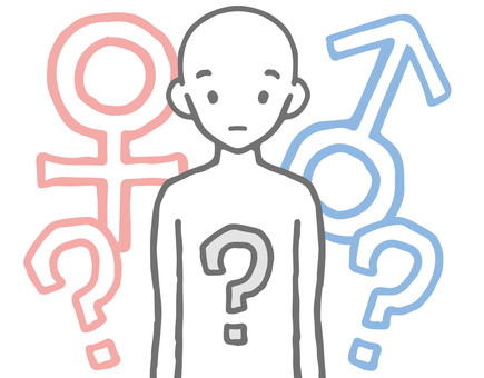 LGBT 關於性別的思考手繪