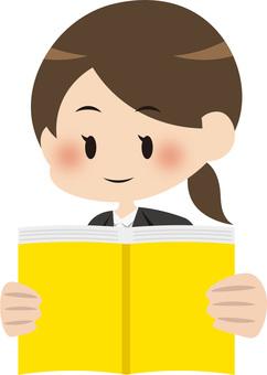 讀書的女人