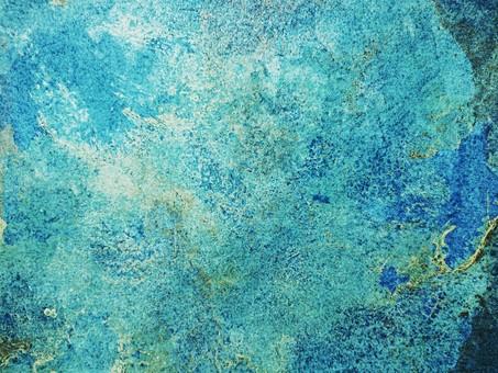 類似地球的油畫藍色紋理