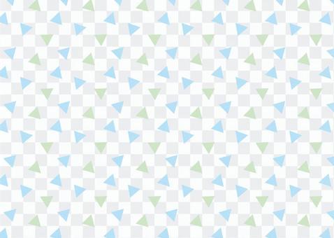 三角形圖案藍色