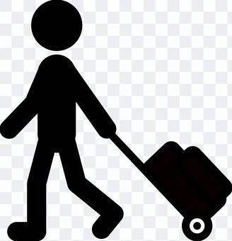 隨身攜帶行李箱