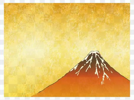 Screen folding picture Fuji