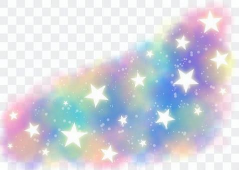 星框極光顏色