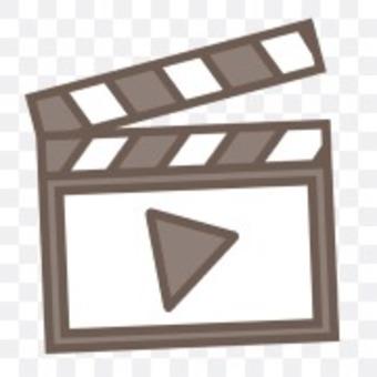 視頻剪輯電影黑白條紋