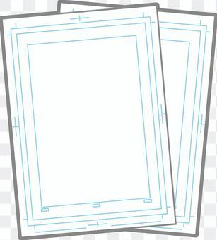 Manga original paper