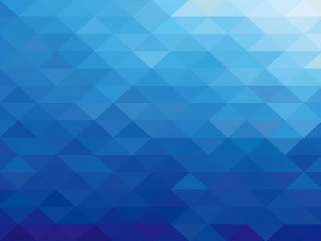 그라데이션 블루 다각형 무늬 배경 소재 바다