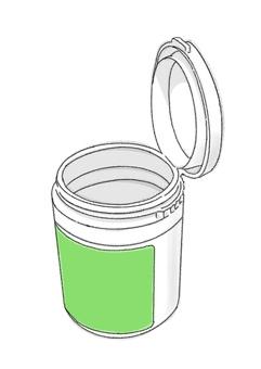 瓶口香糖8(彩色)